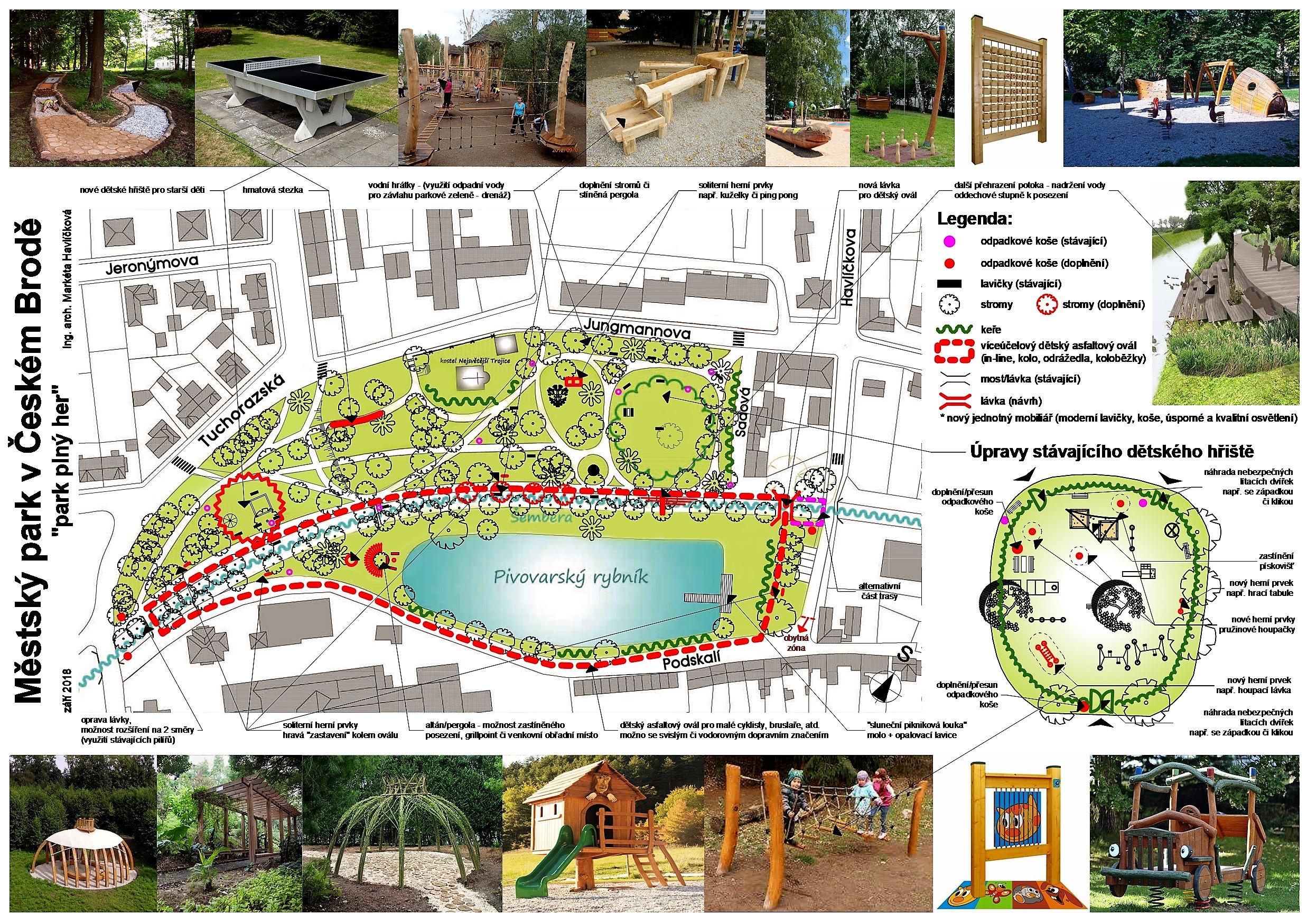 Městský park - jpg