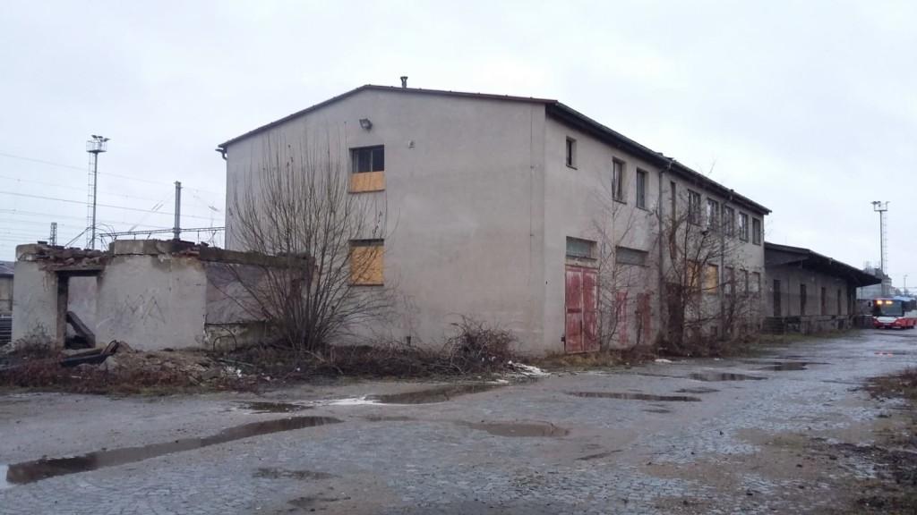budovy určené k demolici