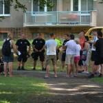 Veřejné setkání občanů s MP v parku - červenec 2018