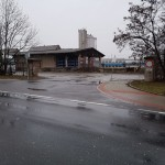 vjezd z ulice Klučovská